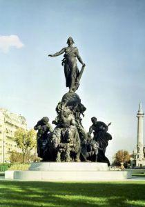 The Triumph of the Republic 1879 by Aime Jules Dalou