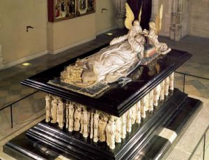The tomb of Philip the Bold Duke of Burgundy by Anonymous