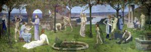 Between Art and Nature 1890 by Pierre Puvis de Chavannes