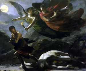 Justice and Divine Vengeance pursuing Crime 1808 by Pierre-Paul Prud'hon