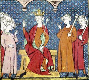 Childeric II Merovingian King of Austrasia by French School