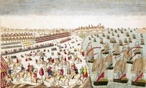 The Battle of Yorktown 1781 by French School