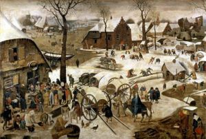 The Payment of the Tithe by Pieter Brueghel The Younger