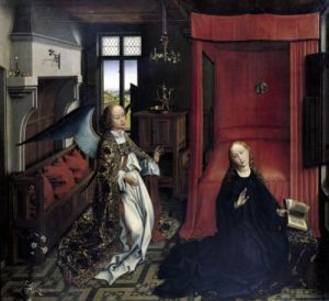 The Annunciation by Rogier Van Der Weyden