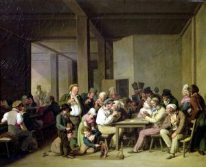 Inn Scene by Louis-Leopold Boilly