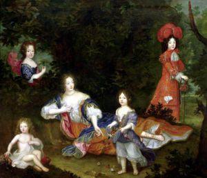 Portrait of Francoise-Athenais de Rochechouart-Mortemart by French School