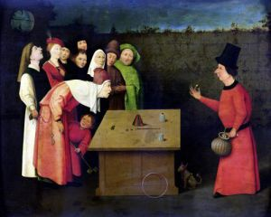 The Conjuror by Hieronymus Bosch