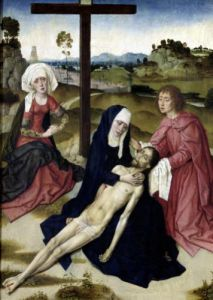 The Lamentation c.1455 by Dirck Bouts