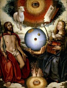 Allegory of Christianity by Jan Provost II