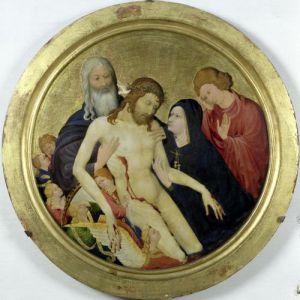 Pieta c.1400 by Jean Malouel