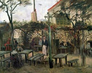 Pleasure Gardens at Montmartre 1886 by Vincent Van Gogh
