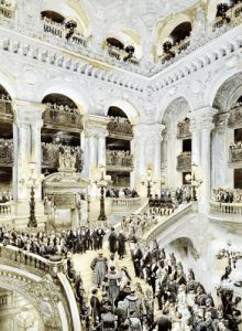 Inauguration of the Paris Opera House 1878 by Jean-Baptiste Edouard Detaille