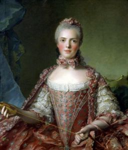 Portrait of Marie Adelaide 1756 by Jean-Marc Nattier
