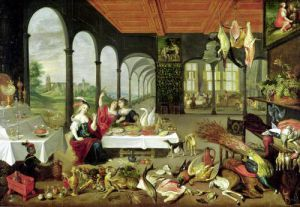 Allegory of Taste by Jan Brueghel the Elder