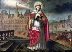 St. Genevieve by French School