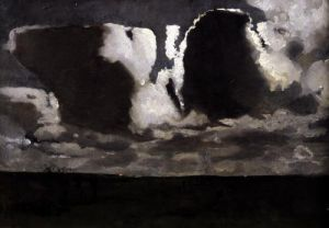 Moonlight by Georg-Hendrik Breitner