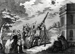 Halley's Comet Observed in 1759 by French School