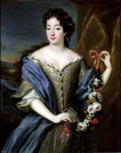 Portrait of Anne de Baviere by Pierre Gobert