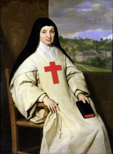 Mother Angelique Arnauld Abbess of Port-Royal 1654 by Philippe de Champaigne