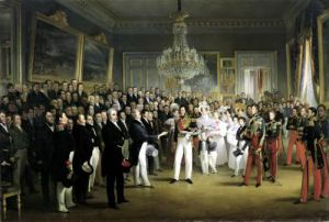 The Chamber of Deputies at the Palais Royal 1830 by Francois Joseph Heim