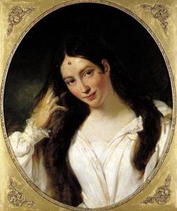 Portrait of 'La Malibran' in the Role of Desdemona by Francois Boucher