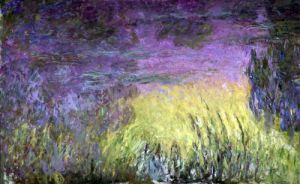 Waterlilies at Sunset 1915 by Claude Monet