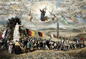 Universal Democratic and Social Republic 1848 by Frederic Sorrieu