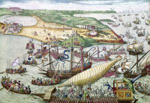 The Siege of Tunis 1535 by Franz Hogenberg