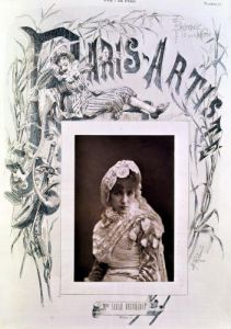 Sarah Bernhardt in the role of Marion Delorme by Gaspard Felix Tournachon Nadar