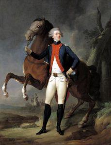 Gilbert Motier Marquis de la Fayette 1788 by Louis-Leopold Boilly