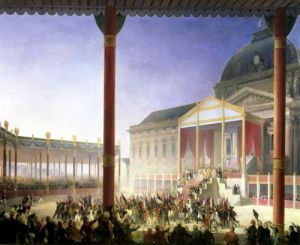 Assembly of the Champ de Mai 1815 by Francois Joseph Heim