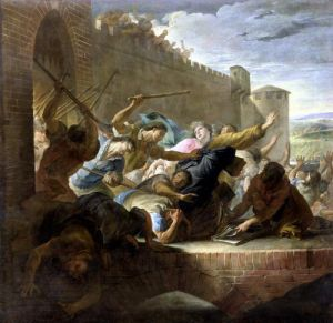 Expulsion of the Huguenots of Toulouse 1727 by Antoine Rivalz
