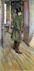 Francois Gauzy by Henri de Toulouse-Lautrec