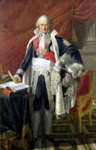 Count Jean-Etienne-Marie Portalis 1806 by Pierre Gautherot