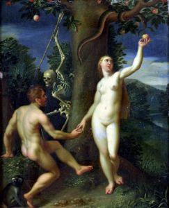 Adam and Eve by Hans Rottenhammer I