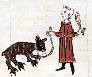 A Bear Keeper from 'Decrets de Gratien' by French School