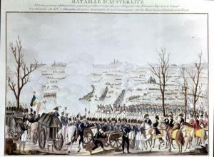Battle of Austerlitz 1805 by French School