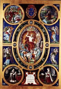 Altarpiece of Sainte-Chapelle depicting the Resurrection 1553 by Niccolo Dell'Abate