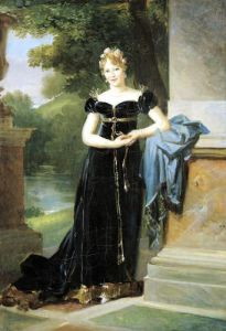 Portrait of Marie Laczinska Countess Walewska 1812 by Baron Francois Pascal Simon Gerard