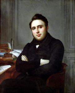 Portrait of Alexandre Auguste Ledru-Rollin 1838 by Angelique Mongez