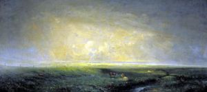 Rain and Sun c.1873 by Antoine Chintreuil