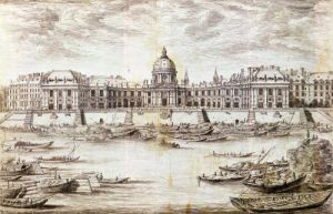 Perspective View of the College des Quatre-Nations by Israel Silvestre the Younger