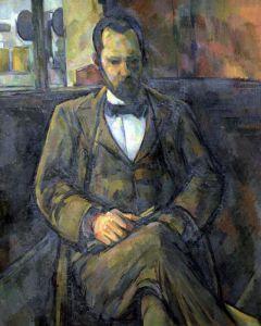 Portrait of Ambroise Vollard 1899 by Paul Cezanne