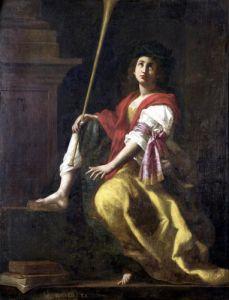 Clio Muse of History 1624 by Giovanni Baglione