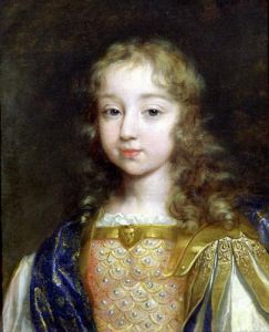 Portrait of the Infant Louis XIV by French School