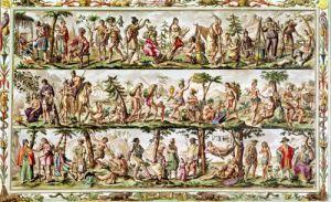 The Principal Peoples of the Americas c.1798 by Jacques Grasset de Saint-Sauveur