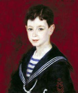 Portrait of Fernald Halphen 1880 by Pierre Auguste Renoir