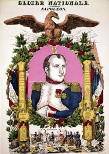 Portrait of Napoleon I in commemoration of the Battle of Austerlitz 1805 by Francois Georgin