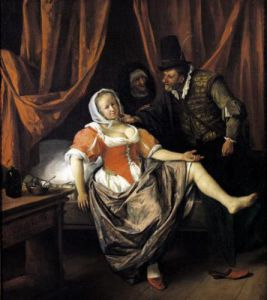 The Wench by Jan Havicksz Steen