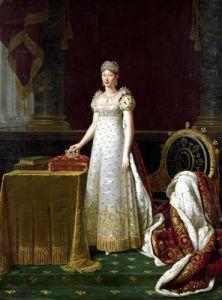 Marie-Louise of Habsbourg Lorraine 1814 by Robert Lefevre